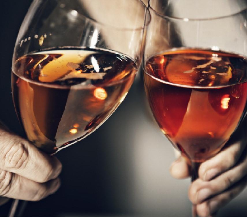 Wine is made using single fermentation.