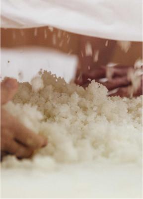 Polissage du riz